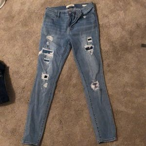 Pacsun ripped jeggins